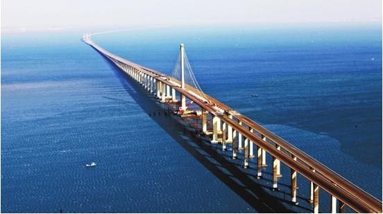 首页 销售业绩  11 ,青岛海湾大桥工程     嘉陵 江大桥是一座独塔不